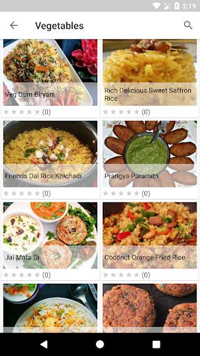 Fried Recipes 1.06 screenshots 2