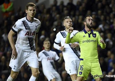 """Les Belgian Spurs étaient unanimes: """"Anderlecht méritait mieux"""""""