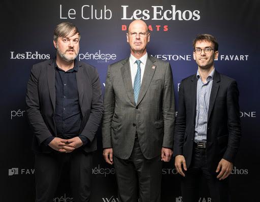 Club Les Echos Débats avec Éric Lombard (Caisse Des Dépôts) - Favart