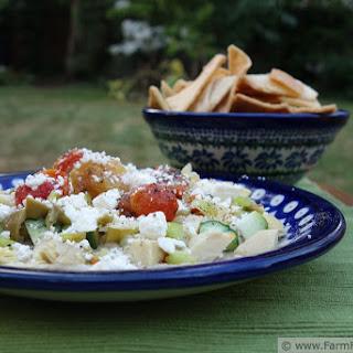 Layered Summer Veggie Appetizer