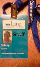 Photo: oh so grateful for my new staff badge so I can work the copier and get into the building if I need.