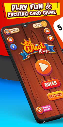 Whot King: Fun Card Matching Game - free + offline 2.1.0 screenshots 1
