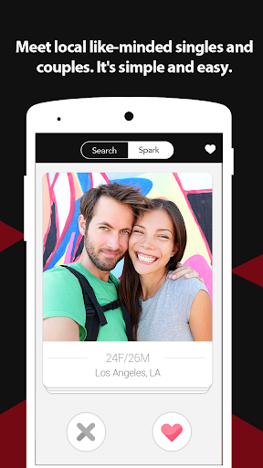 Swingers App For Singles, Couples & Threesome App screenshot 4