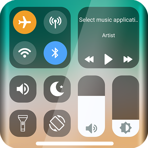 Control Center IOS - Screen Recorder Android APK Download Free By Elton Cimini