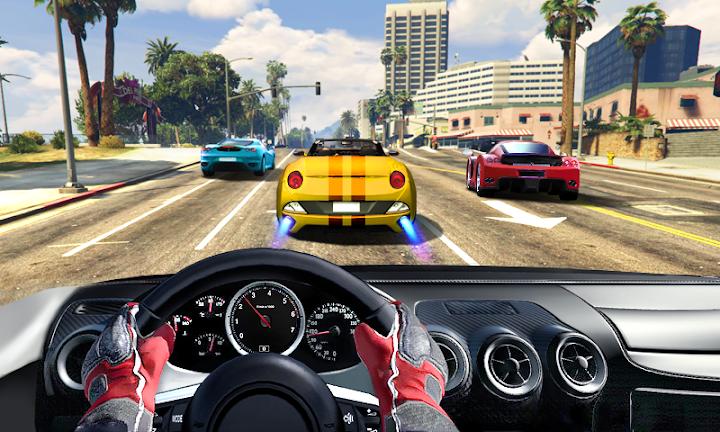 Drive In Car Android App Screenshot