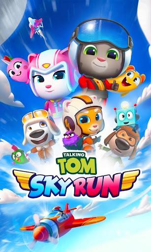 Talking Tom Sky Run: The Fun New Flying Game apktram screenshots 8