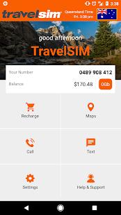 TravelSIM - náhled
