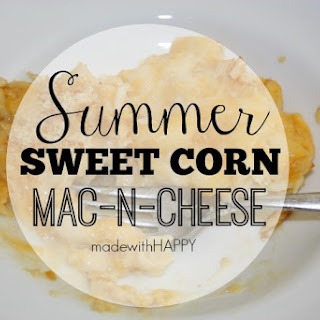 Summer Sweet Corn Mac-n-Cheese