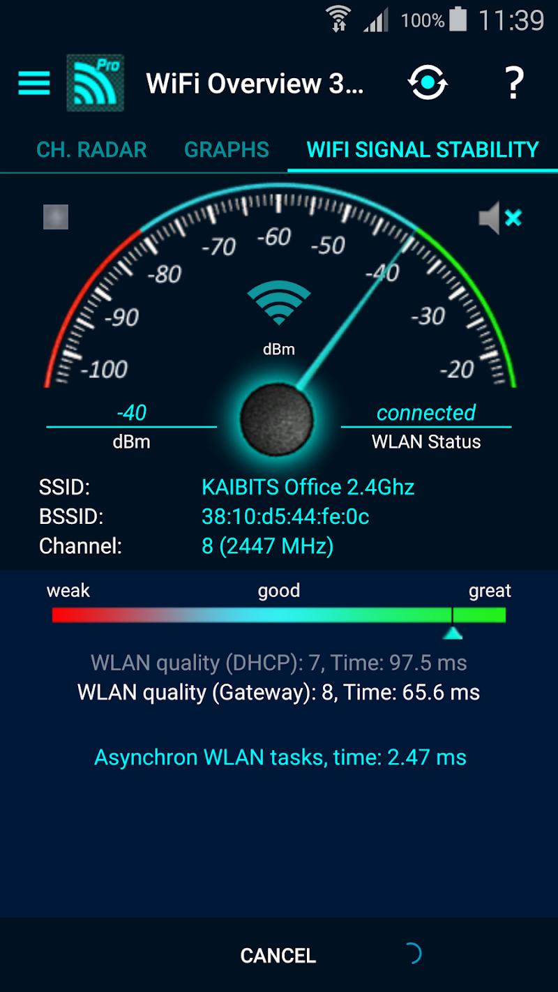WiFi Overview 360 Pro Screenshot 5
