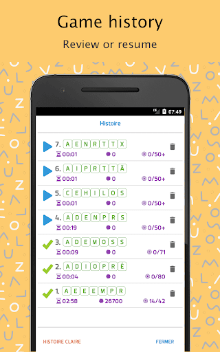 Each Word - French (Chaque Mot) android2mod screenshots 7