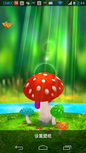 Mushrooms 3D Live Wallpaper Apk Latest Version Download For Android 1