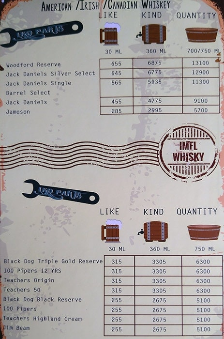 The Junkyard Cafe menu 3
