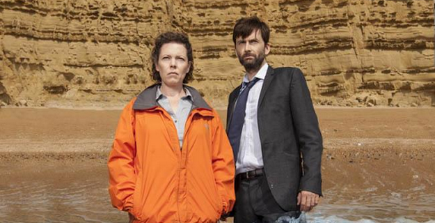 Chris Chibnall shed 'a few tears' filming Broadchurch finale