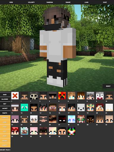 Custom Skin Creator For Minecraft 4.5 screenshots 9
