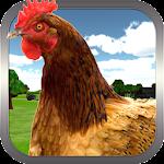 Crazy Chicken Simulator 3D icon