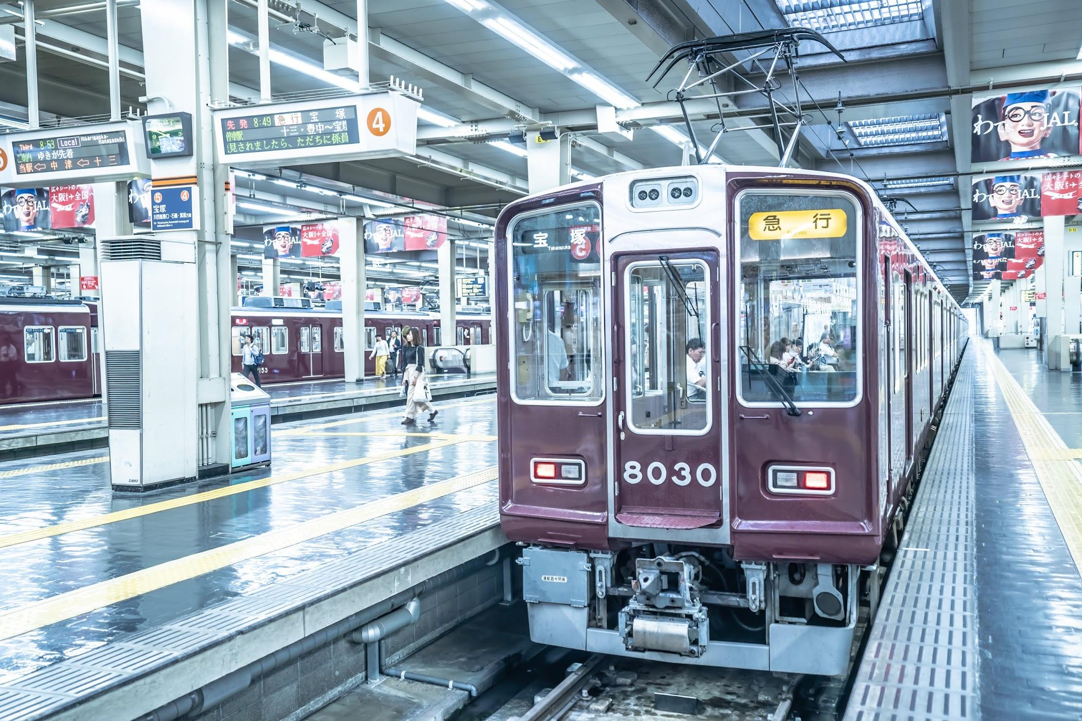 Hankyu Umeda station3