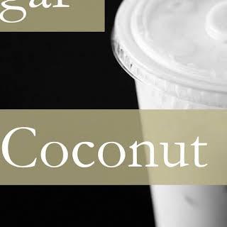 Brown Sugar Coconut Bubble Tea.