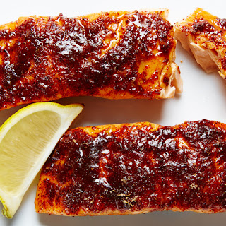 Sweet Citrus Spiced Salmon.