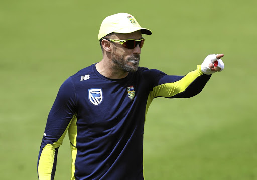Your country needs you: Proteas captain Faf du Plessis should get along with new coach Ottis Gibson as the pair have similar personalities. Picture: REUTERS