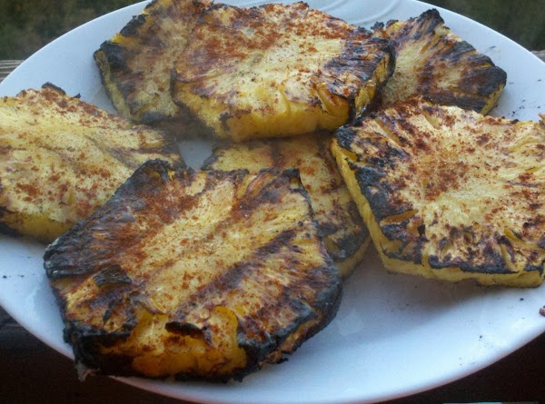 Kicked Up Grilled Pineapple Recipe