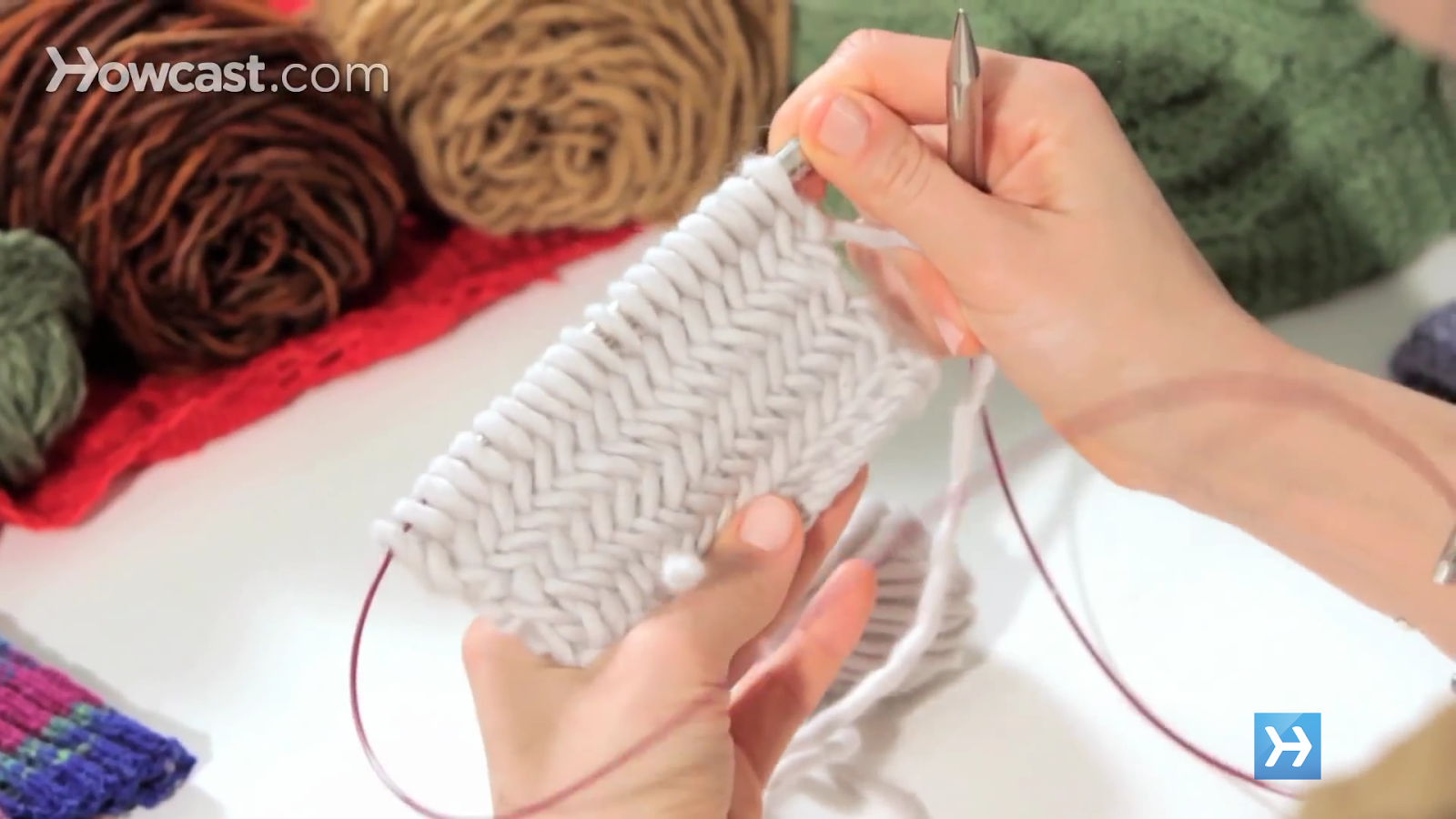 How to Knit- screenshot