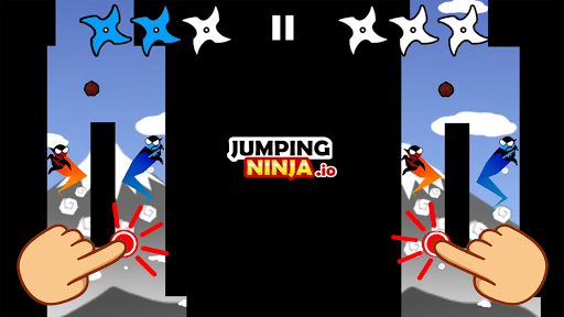 Jumping Ninja Party 2 Player Games apkpoly screenshots 1