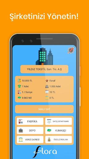 Code Triche Ticaret Oyunu Fabrika Yu00f6net APK MOD screenshots 1