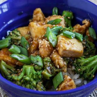 Sesame Broccoli Tofu