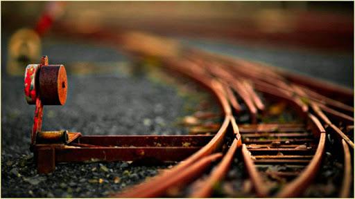 HD Rail Road Wallpapers