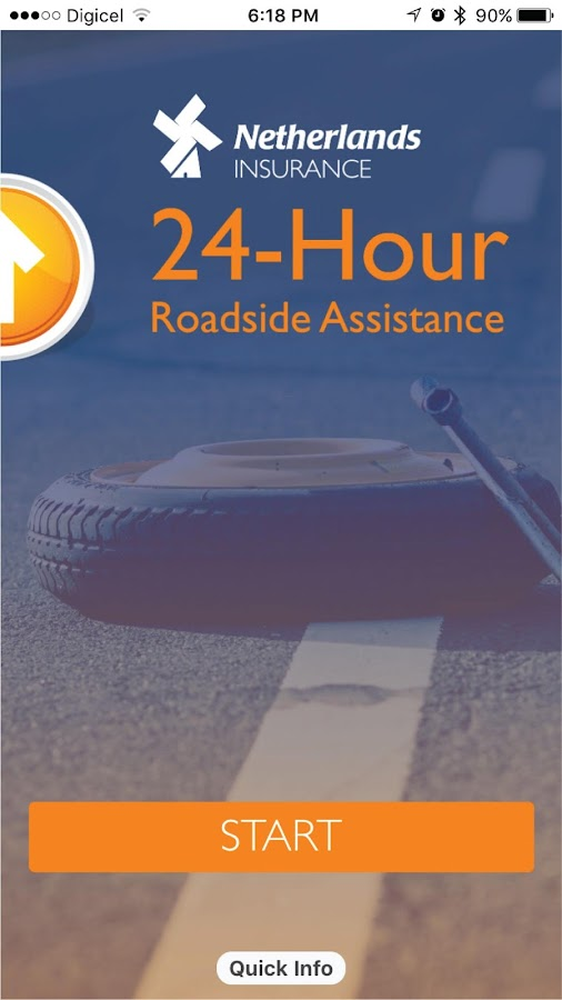 Netherlands Insurance Roadside Assistance- screenshot