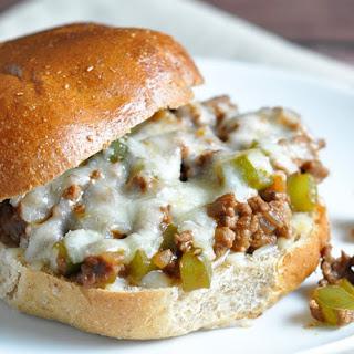 Philly Cheese Steak Sandwich.