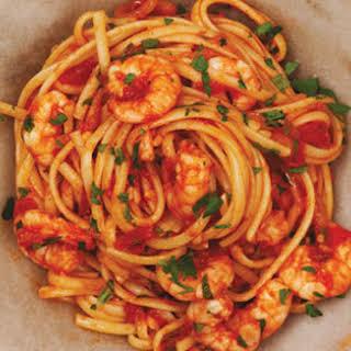 Fra Diavolo Shrimp Linguine.