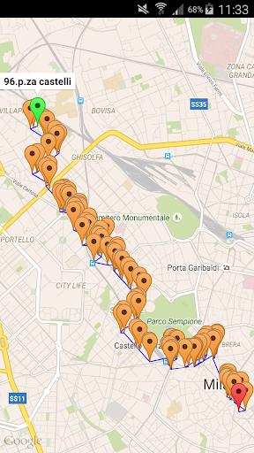 Milan Transit Info