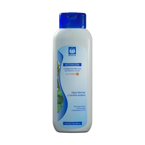 crema corporal brizna aceite corporalivacion algas centella 380ml