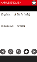 Screenshot of KAMUS - ENGLISH - INDONESIA
