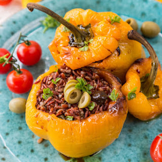 Anchovy Stuffed Bell Peppers Recipes
