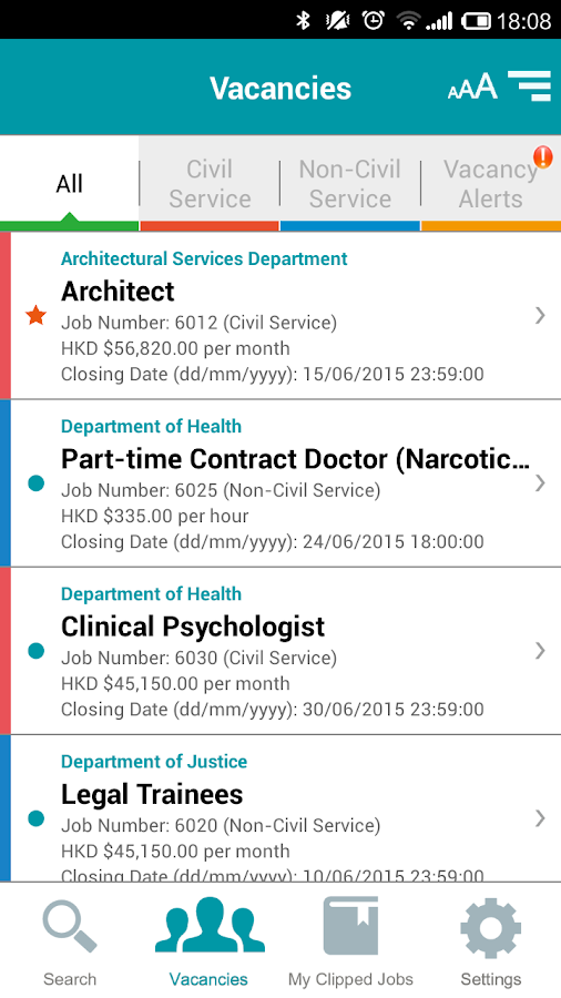 Government Vacancies - Android Apps on Google Play