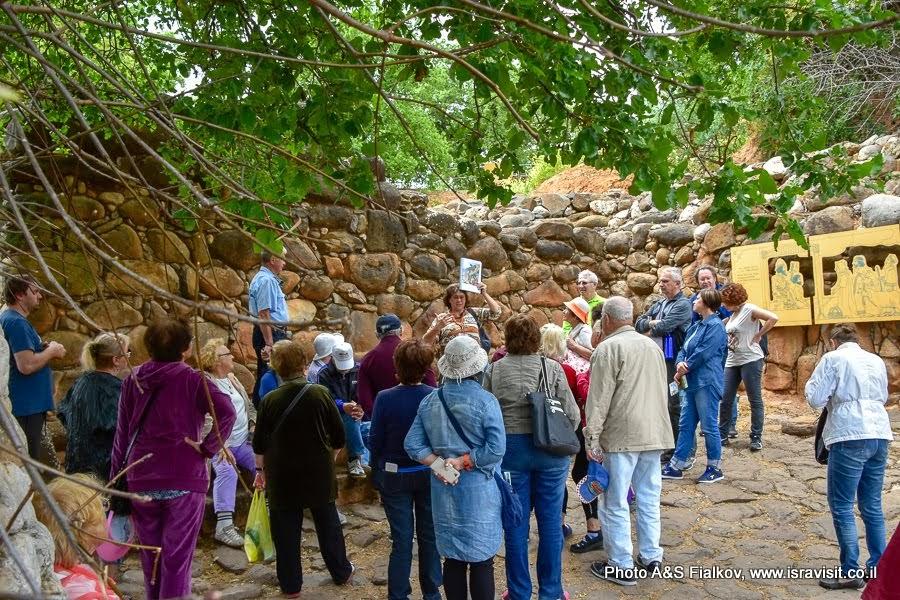 Экскурсия гида в Израиле Светланы Фиалковой в заповеднике Тель Дан.
