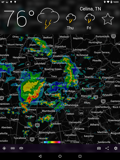 MyRadar NOAA Weather Radar Screenshot 8