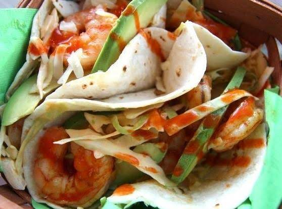 Spicy Grilled Shrimp Taco