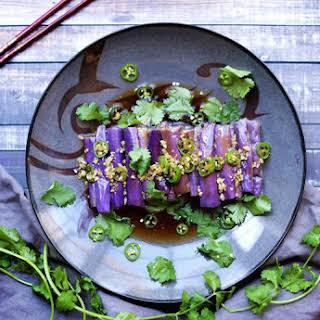 Chinese Cold Eggplant Salad.