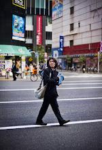 Photo: Man Crossing Street, Tokyo - from Trey Ratcliff at http://www.StuckInCustoms.com