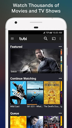 Tubi TV - Free Movies & TV 2.13.5 screenshots 1