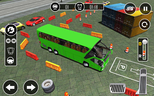 Bus Parking - Drive simulator 2017 1.0.3 screenshots 9