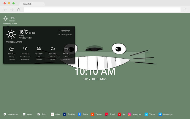 My Neighbor Totoro Pop HD New Tabs Theme