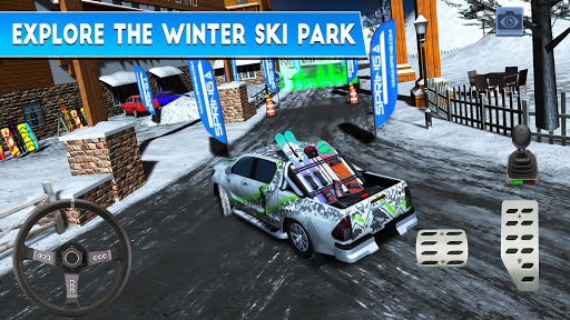 Winter Ski Park: Snow Driver Apk 2