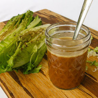 Asian Dressing and Grilled Romaine