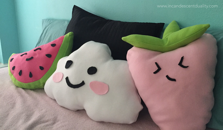 Cute Food Pillows Diy : DIY Spring Dorm Decor Her Campus