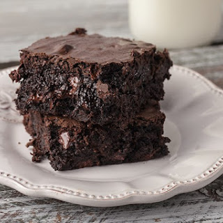 Fudgy Cakey Family Size Decadent Brownies