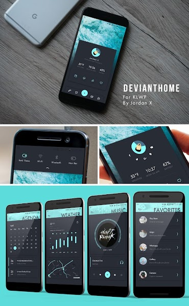 DeviantHome for KLWP v2017.Apr.24.16